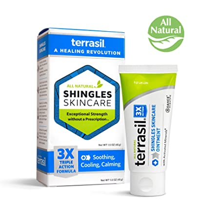amazon com shingles treatment cream 3x triple action formula 100