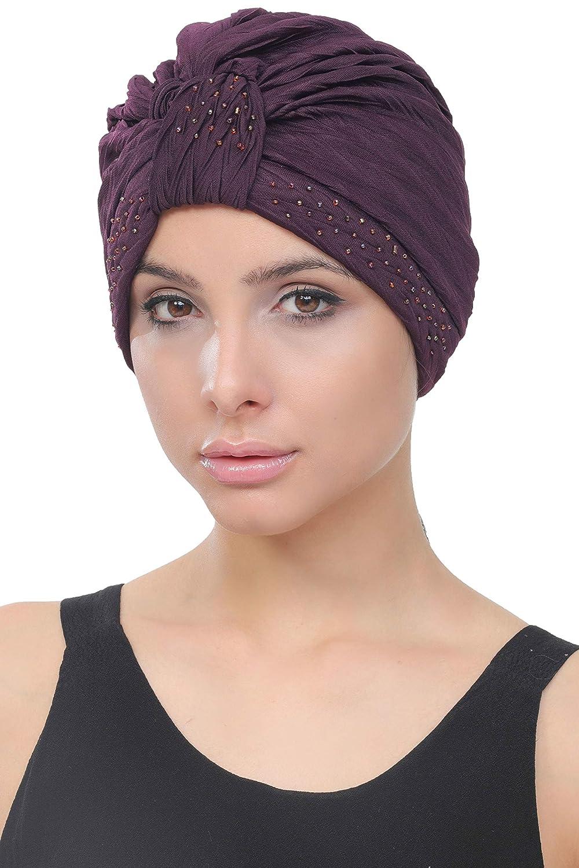 il cancro Deresina Headwear W turbante in perline stile per la caduta dei capelli la chemioterapia