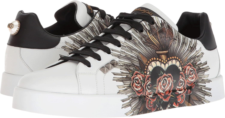 Gabbana Men's Sacred Heart Sneaker