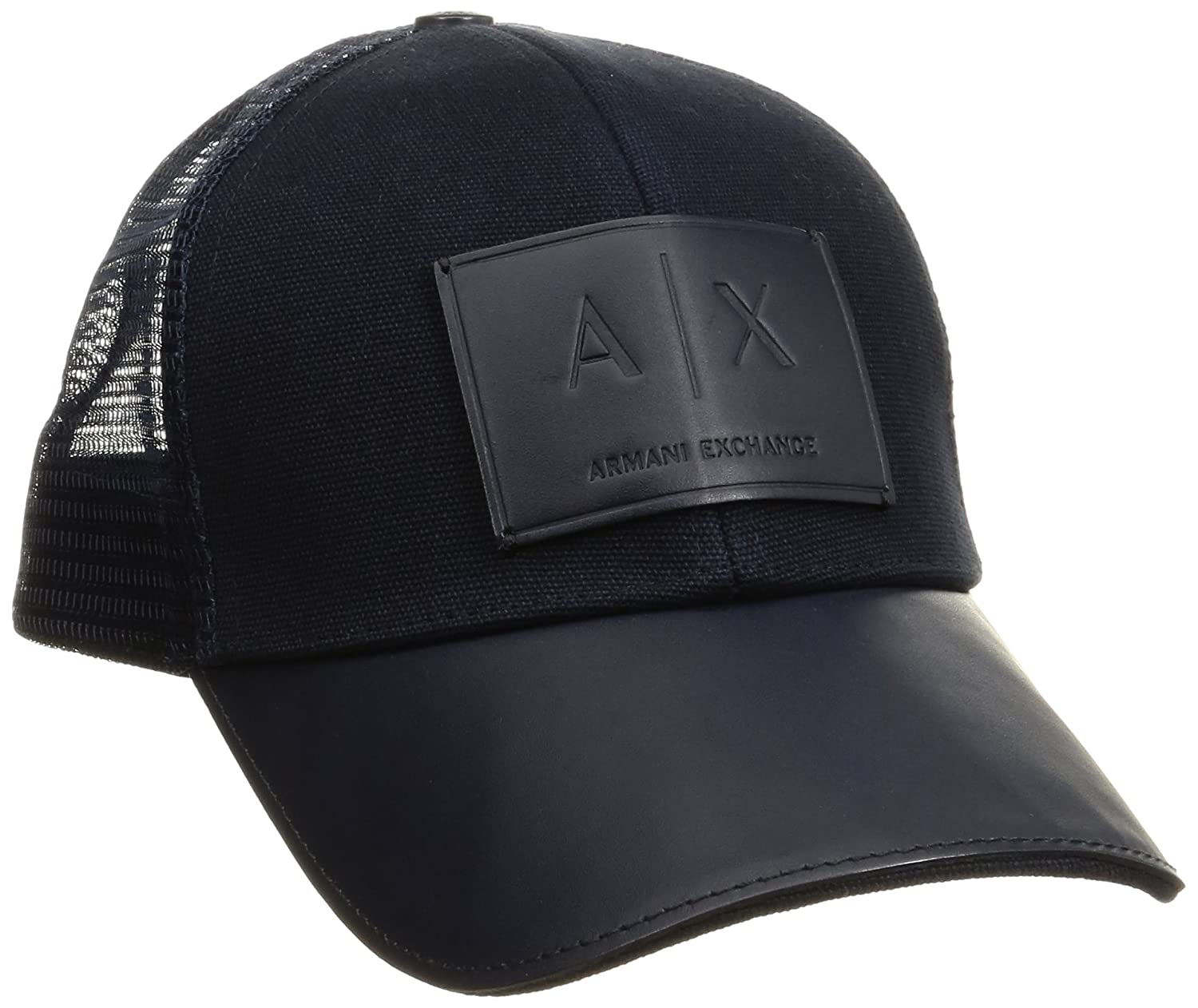 A|X Armani Exchange Men's Logo Patch Trucker Hat 954040CC502