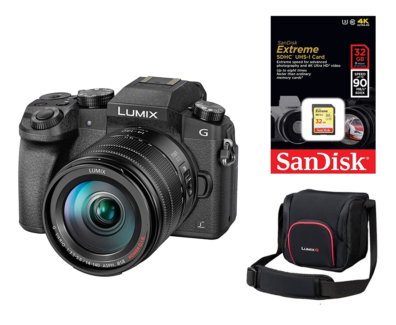 Tapa para lente Panasonic Lumix G70 y 14-140 mm