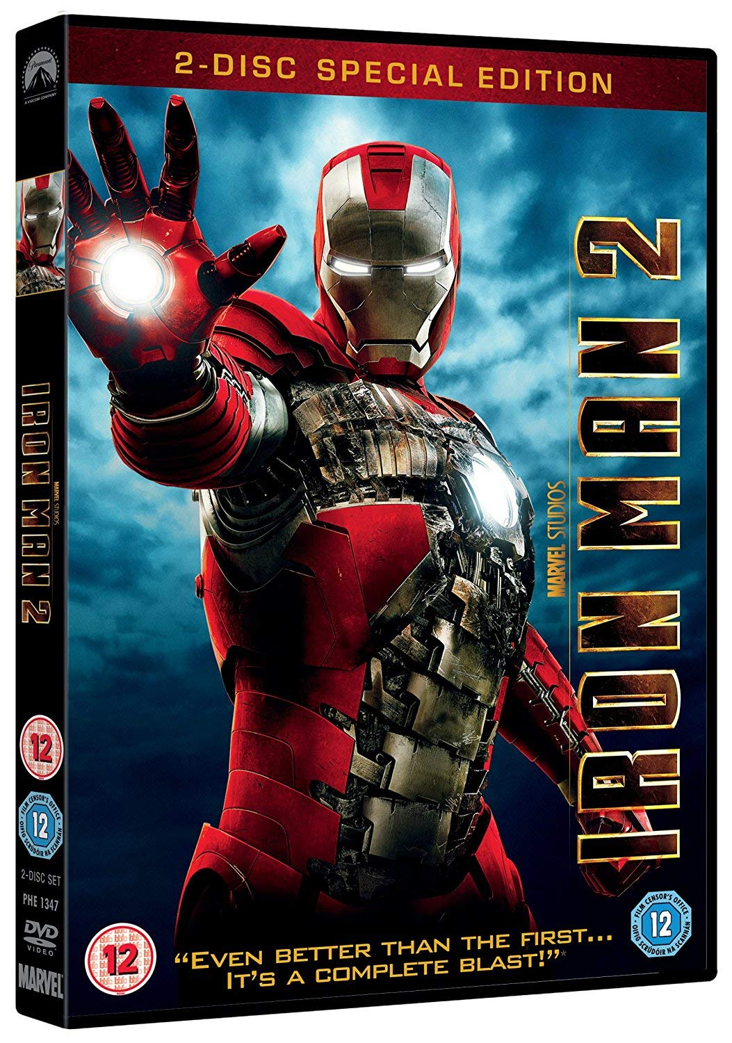 Iron Man 2 2-Disc Special Edition Edizione: Regno Unito Reino Unido DVD: Amazon.es: Iron Man 2: Cine y Series TV