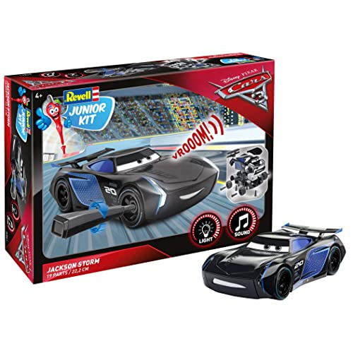 Revell Junior Kit - 00861 - Jackson Storm à Construire - Cars 3