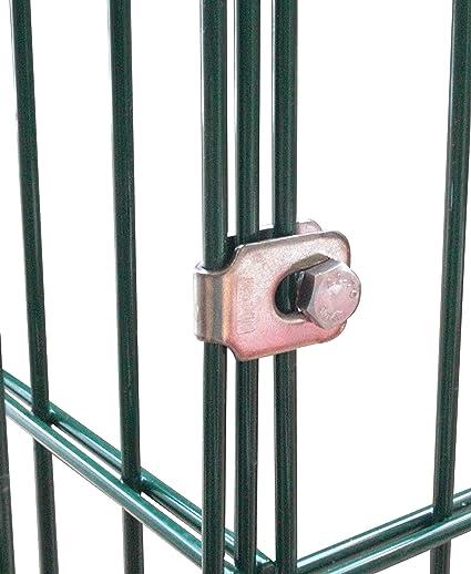 Conector, pesado abrazadera para esquina Gaviones, valla, vallas, compostador, hochbeete y