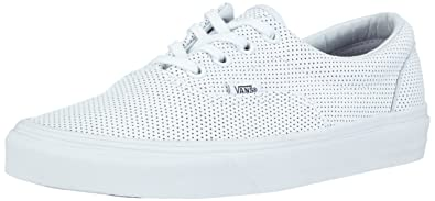 ca5534c601 Image Unavailable. Image not available for. Color  Vans Unisex Era (Perf  Leather) ...