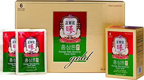 KGC Cheong Kwan Jang Korean Red Ginseng Tonic Gold Rich Taste and High Concentration