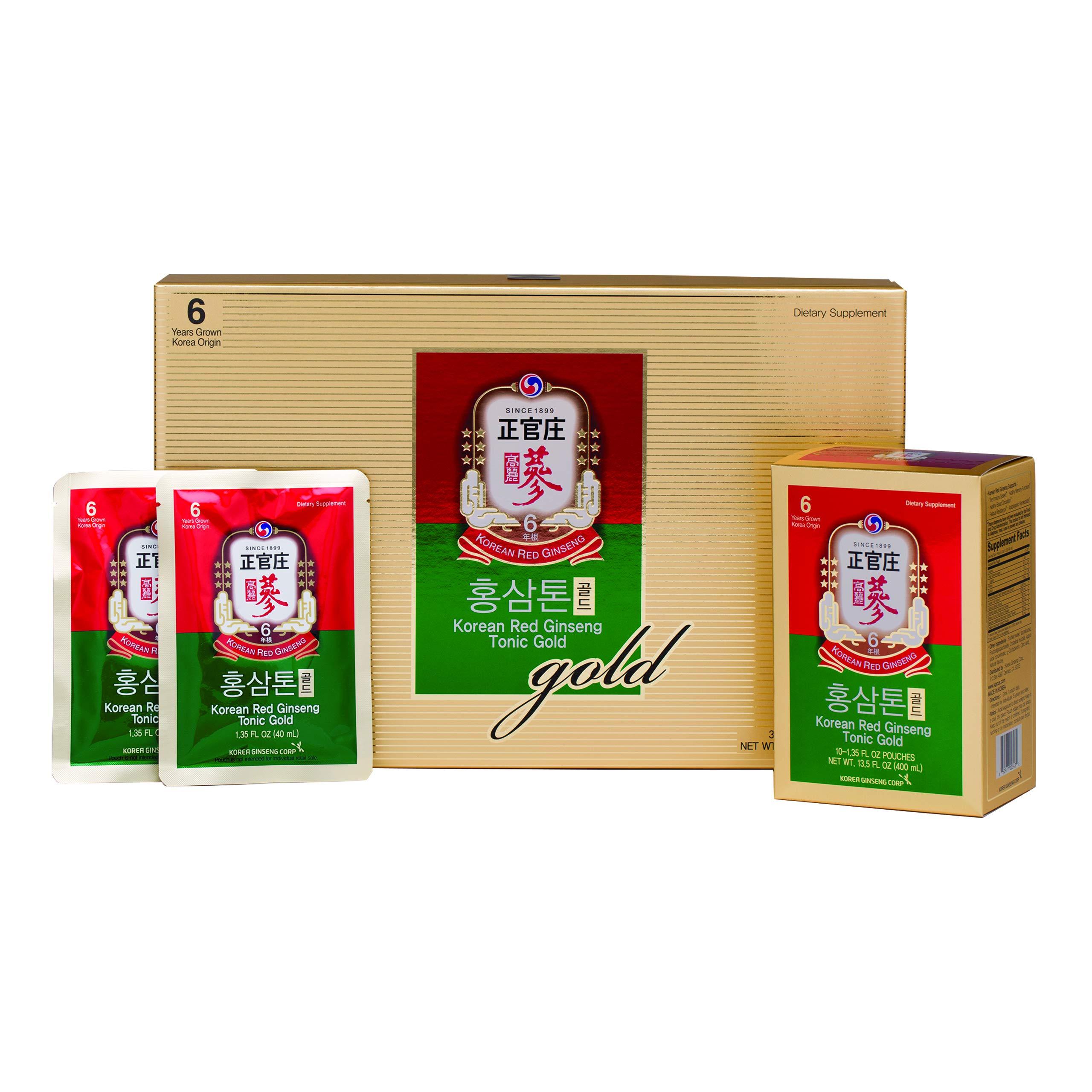KGC Ginseng Gold Tonic, 30 Count
