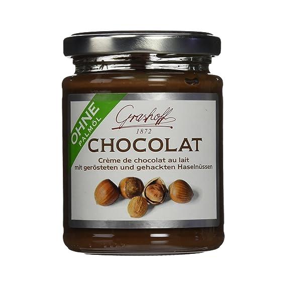 Grashoff - Crema de chocolate con leche y avellanas - Pack de 3 Unidades