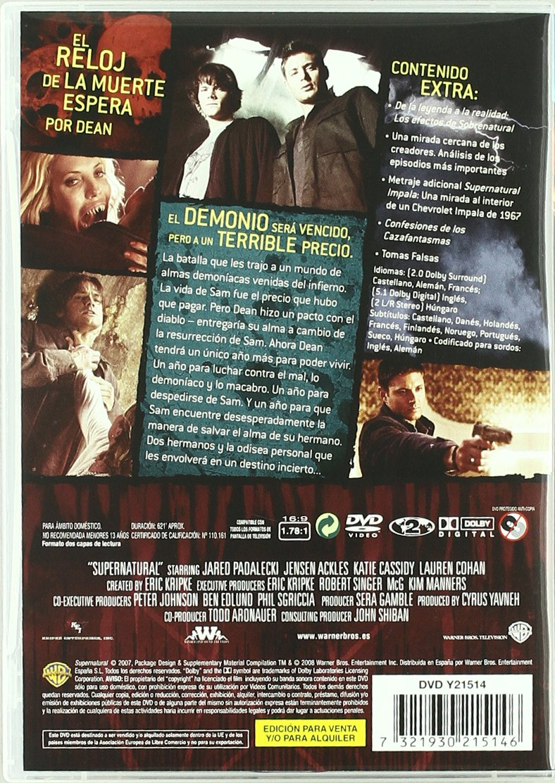 Amazon.com: Sobrenatural Temporada 3 (Import Movie) (European Format - Zone 2) (2008) Jared Padaleck; Jensen Ackles; Ka: Movies & TV
