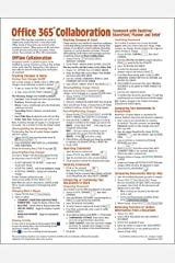 Office 365 Collaboration - Teamwork with OneDrive, SharePoint, Planner and Delve Quick Reference Guide (Cheat Sheet of Instructions, Tips & Shortcuts - Laminated Card) Pamphlet