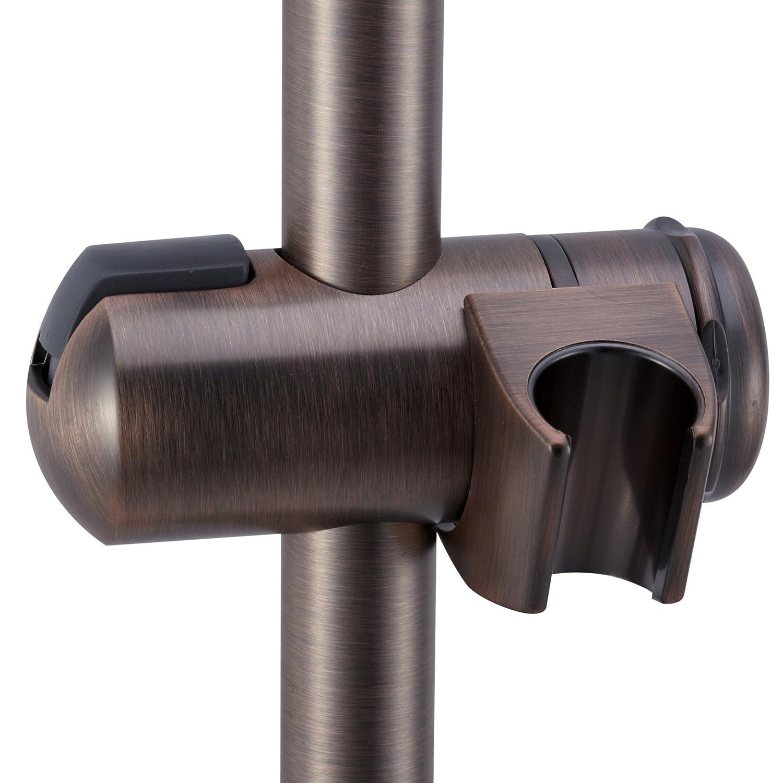 Amazon.com: Dura Faucet DF-SA300CL-ORB RV Shower Slide Bar - Oil ...