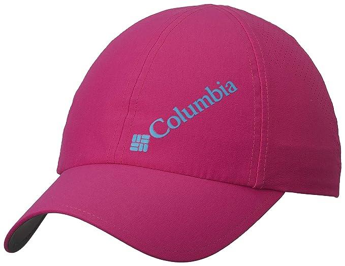 Columbia Gorra de béisbol unisex, Silver Ridge III Ball Cap, Nailon, Rosa (Haute Pink), Talla: O/S, 1840071: Amazon.es: Deportes y aire libre