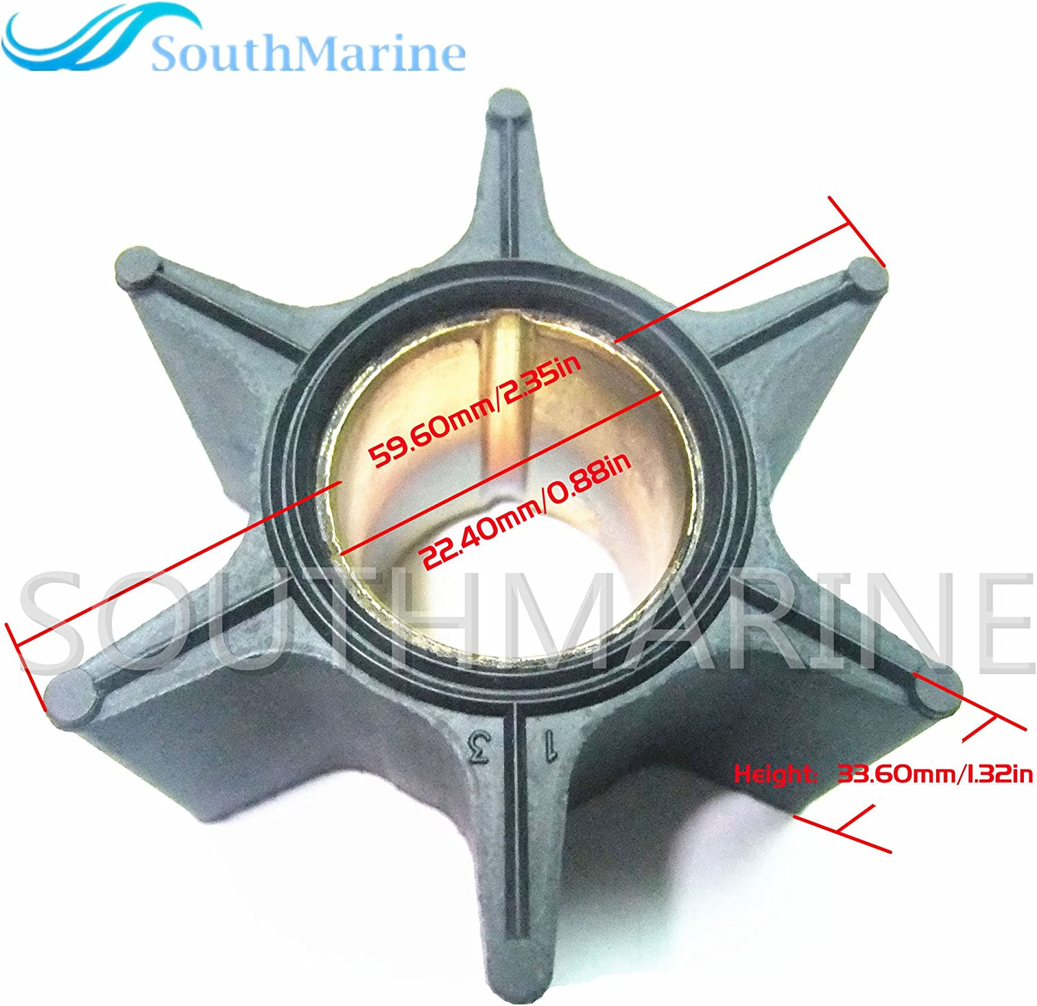 NEW 47-89984 AFTERMARKET REPLACEMENT Water Pump Impeller MERCURY QUICKSILVER