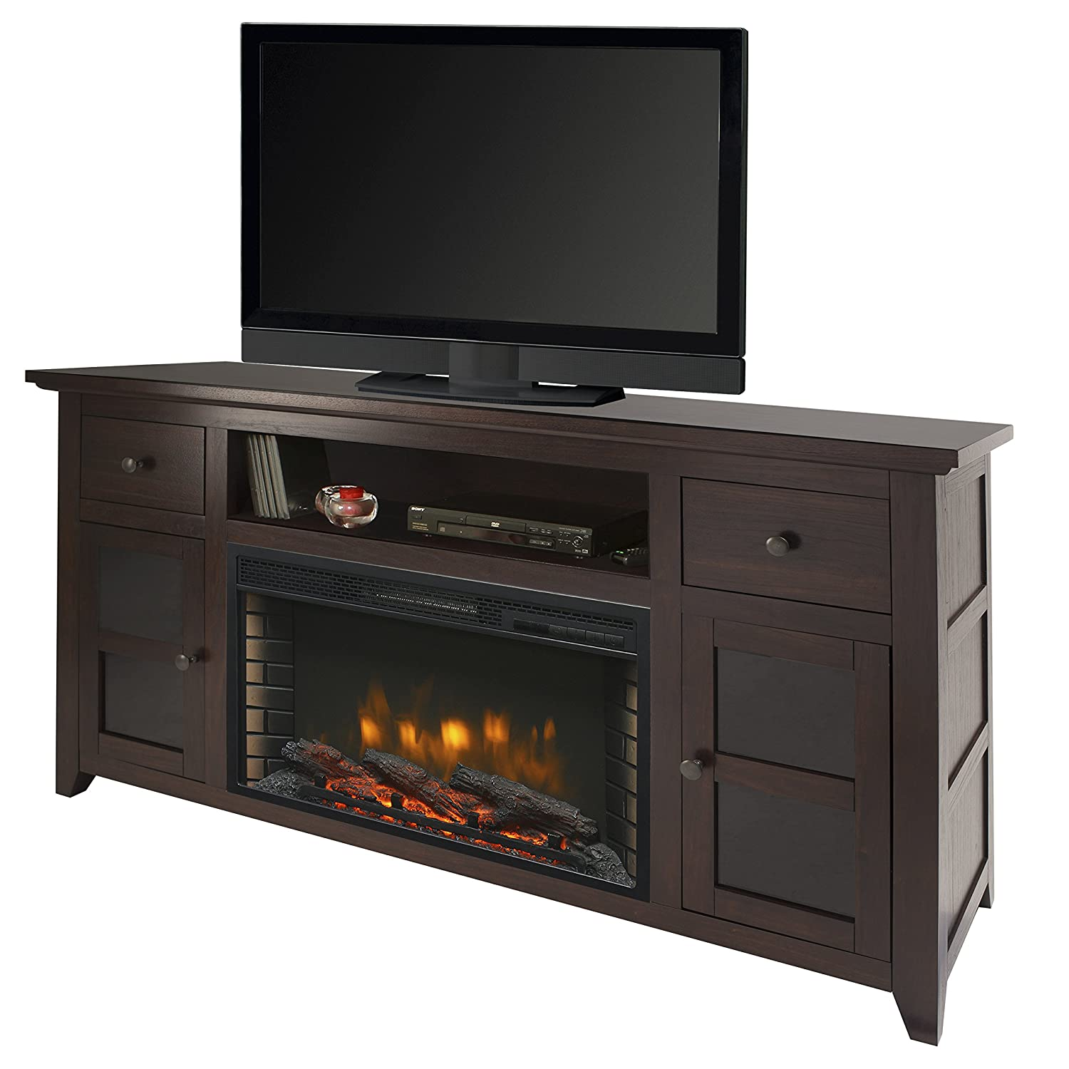 Muskoka Winchester 56 Media Electric Fireplace – Dark Walnut
