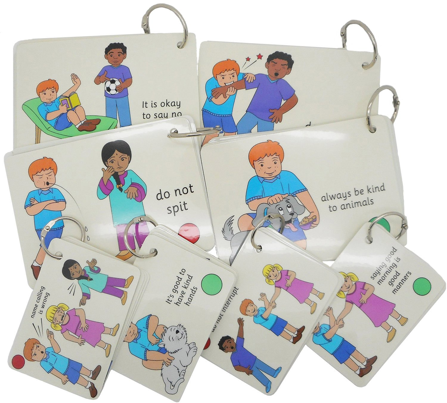 Social Rules Cards Teaching Card Pack small Autism SEN