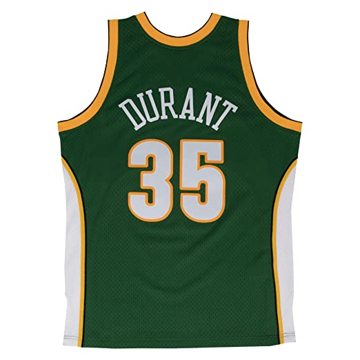 Mitchell & Ness Replica Swingman NBA Jersey HWC 35 Durant Seattle Supersonics Basketball Trikot: Amazon.es: Ropa y accesorios