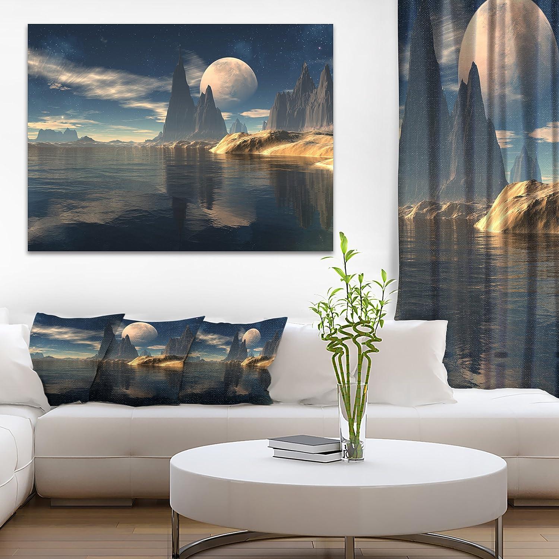 Antara Alien Planet Photography Canvas Art Print Amazon In Home Kitchen