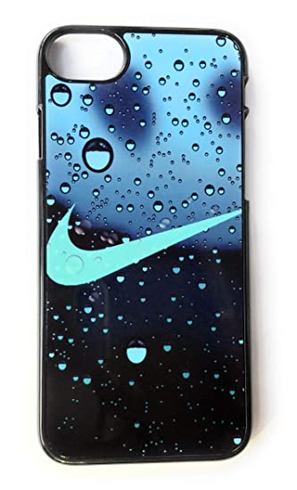 Water Droplets Background Nike Phone Case Cover for iPhone 6/6s 4.7 (Inch) Just Do It Luxury Design (7/8)