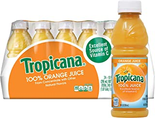 product image for Tropicana Orange Juice, 10 Ounce (Pack of 24)