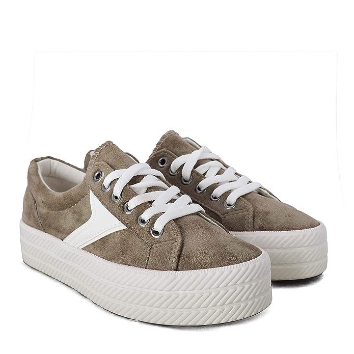 Rebajas Altamoda Zapatillas Mujer Sneakers Estilo Casual: Amazon.es: Zapatos y complementos