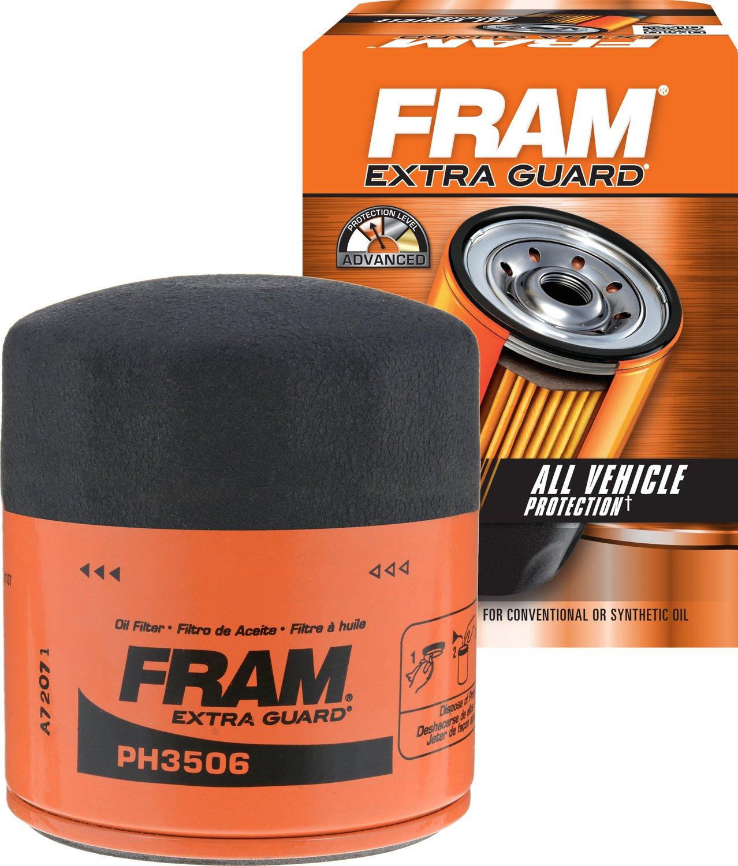 FRAM PH3506 Extra Guard Passenger Car Spin-On Oil Filter