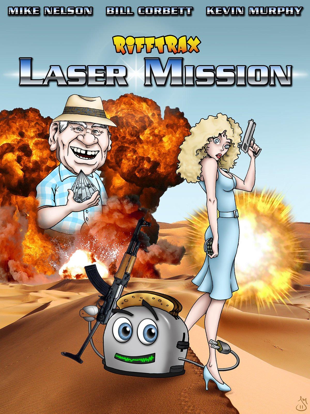 RiffTrax: Laser Mission on Amazon Prime Video UK