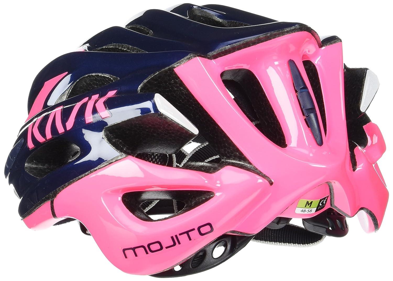 Kask - Mojito 16 - Casco para bicicleta, Adultos , Azul/Rosa, M (52-58 cm): Amazon.es: Deportes y aire libre
