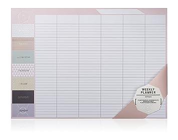 Calendario Semanal.Npw Calendario Planificador Semanal De Escritorio