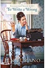 To Write a Wrong (The Bleecker Street Inquiry Agency Book #2) Kindle Edition