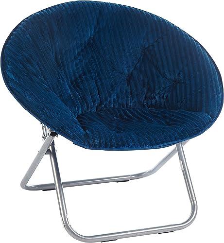 Urban Shop Corduroy Saucer Chair