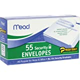MEA75030 - Press-it Seal-it Security Envelope, 55 Count,(3 5/8 in x 6 1/2 in)