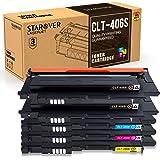 STAROVER 5x CLT-406S (CLT-K406S - CLT-Y406S) Cartuchos De Tóner Compatible Para Samsung CLX-3300 CLX-3305 CLX-3305W CLX-3305N CLX-3305FW CLX-3305FN CLP-360 CLP-365 CLP-365W Xpress C410W C460FW C460W