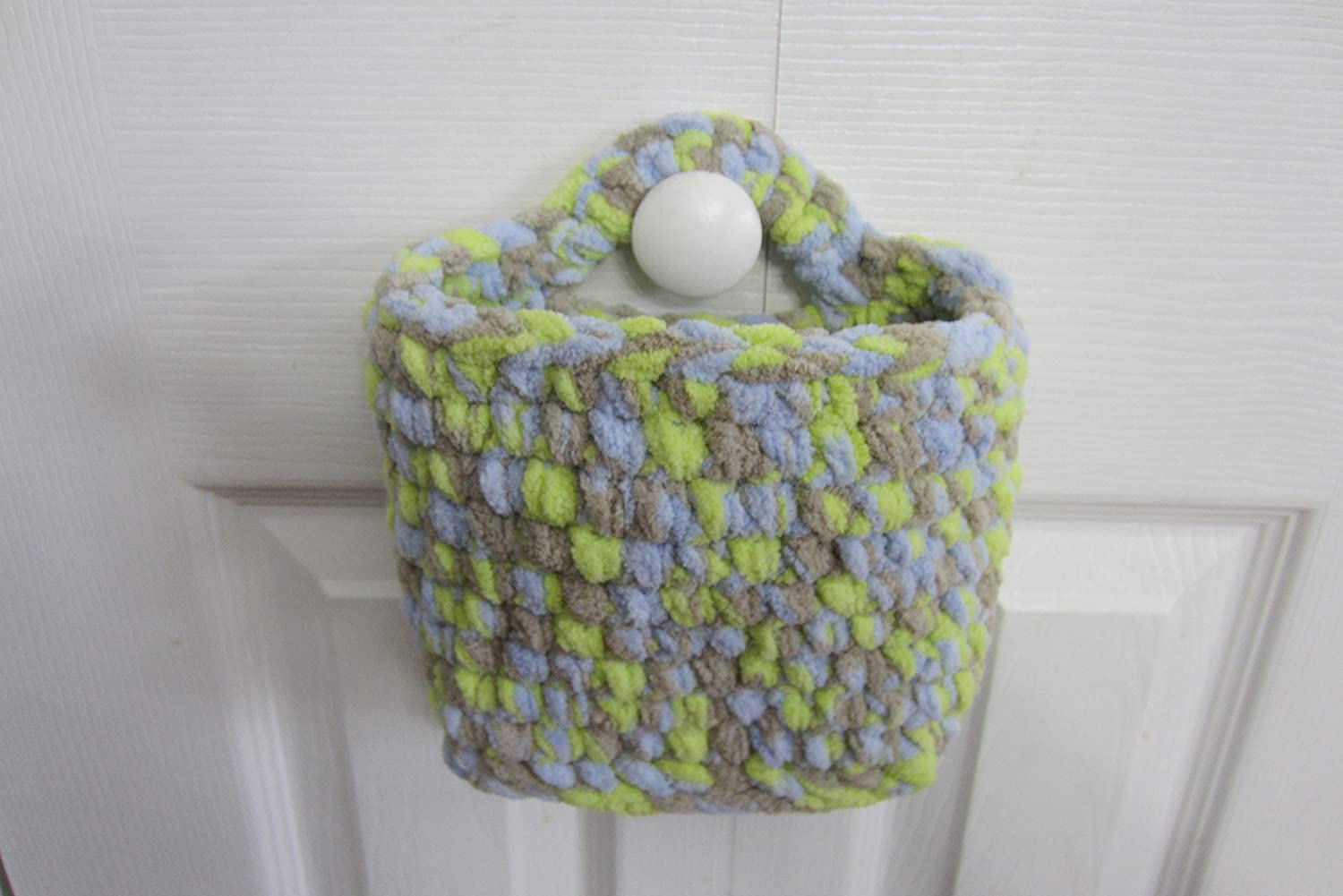 Hanging Basket, Medium Storage Rectangle Wall Baskets - Many Color Choices!