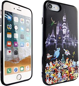 iPhone SE 2020 CASEMPIRE Disney Characters TPU Case Shock Proof Never Fade Slim Fit Cover for iPhone SE 2020 Magic Castle