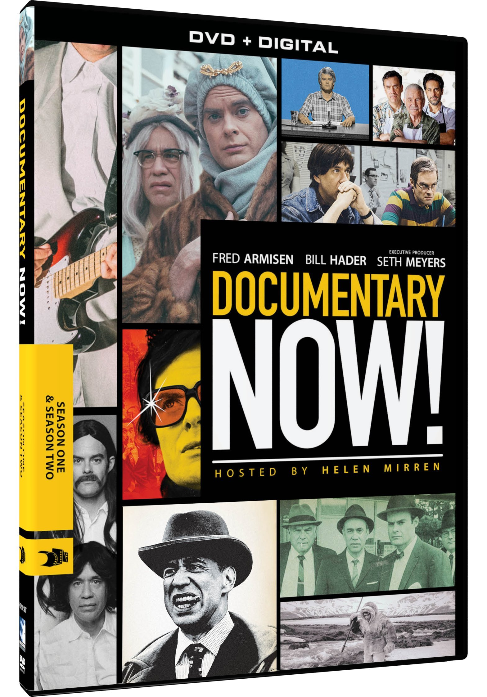 DVD : Documentary Now: Season One & Season Two (2 Pack, 2PC)