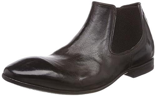 Preventi PRV00001093 - Botas Mocasines de Cuero Hombre, Color Marrón, Talla 42.5 EU: Amazon.es: Zapatos y complementos