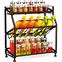 Deals on Ace Teah 3 Tier Larger Spice Rack Organizer