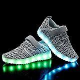 ANLUKE Kids LED Light Up Shoes Breathable 11