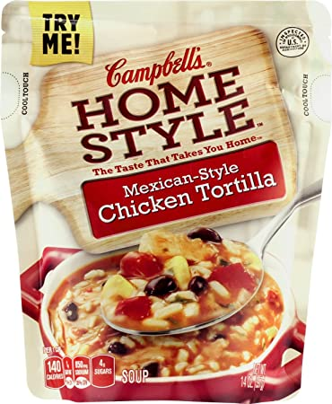 Amazon.com : Campbells Homestyle Soup Mexican-style Chicken ...