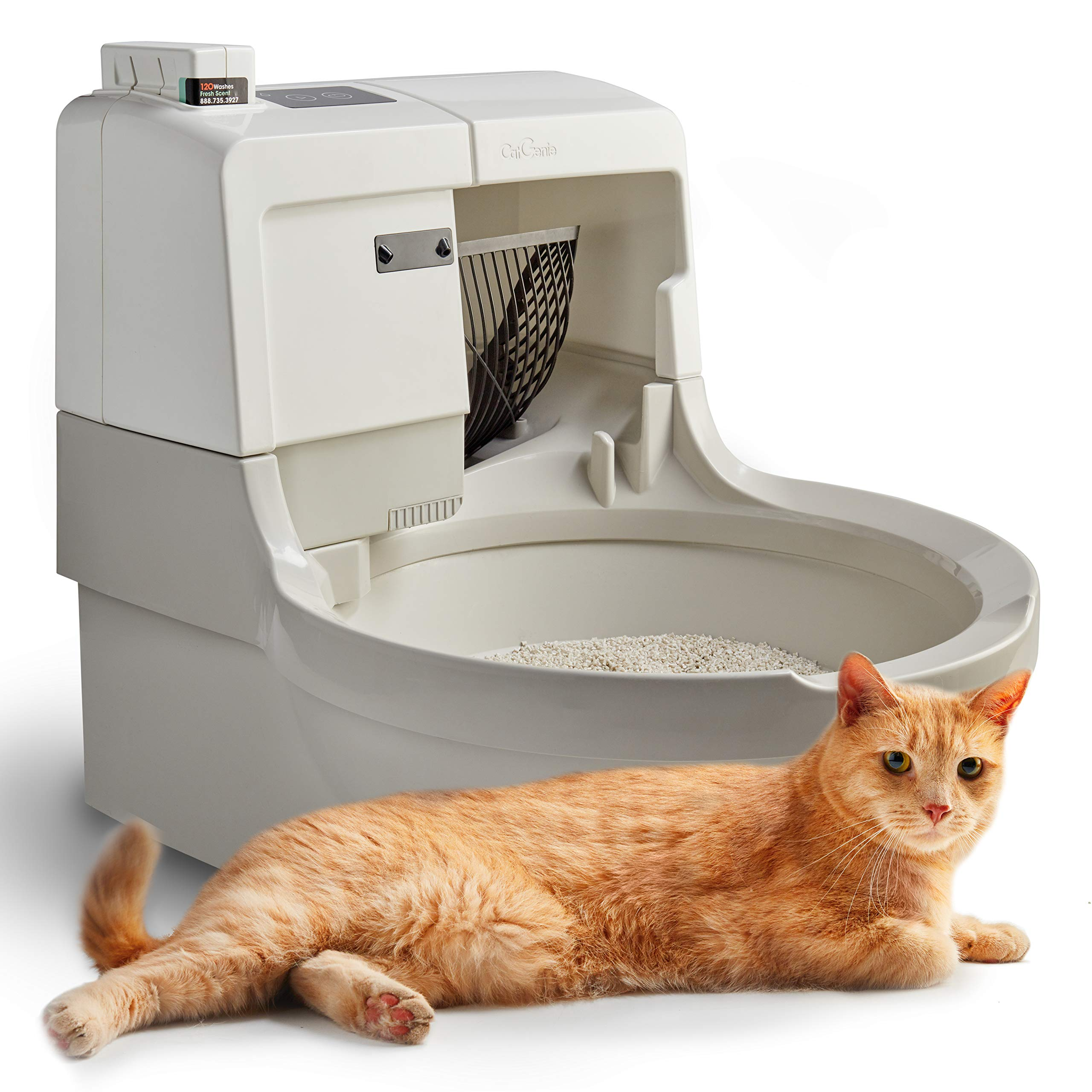 CatGenie A.I. Self-Washing Cat Box (Latest Model)