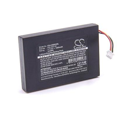 vhbw Litio polímero batería 1200mAh (3.7V) para Auriculares inalámbricos Cascos Logitech G533,