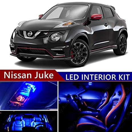 Charmant Nissan Juke 2011 2016 LED Premium Blue Light Interior Package Kit ( 8 Pcs )