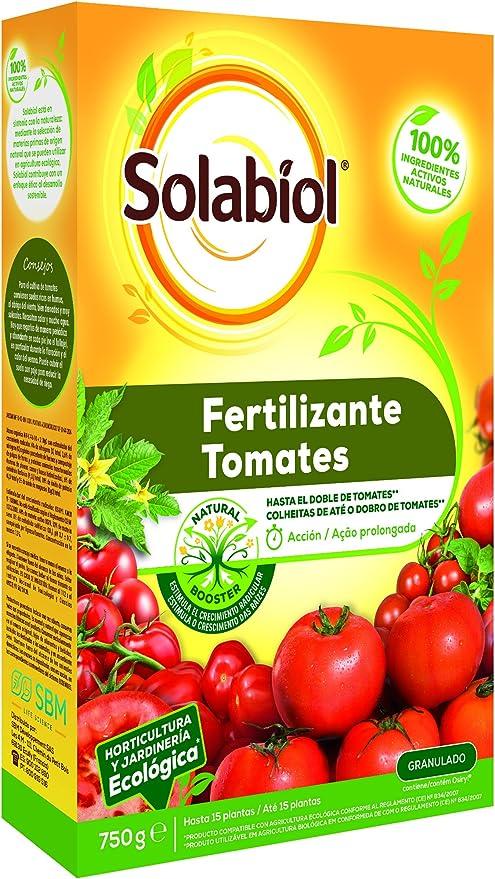 Solabiol - Fertilizante granulado 100% orgánico y ecológico para ...