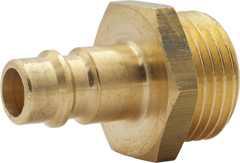 Druckluftkupplung NW 7,2 Messing Schlauchstecker Ventilsteckdose Gewindestecker Schlaucht/ülle Kupplungsstecker Aussengewinde 1//2
