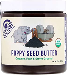 product image for Dastony Organic Poppy Seed Butter, 8 oz (227 g)