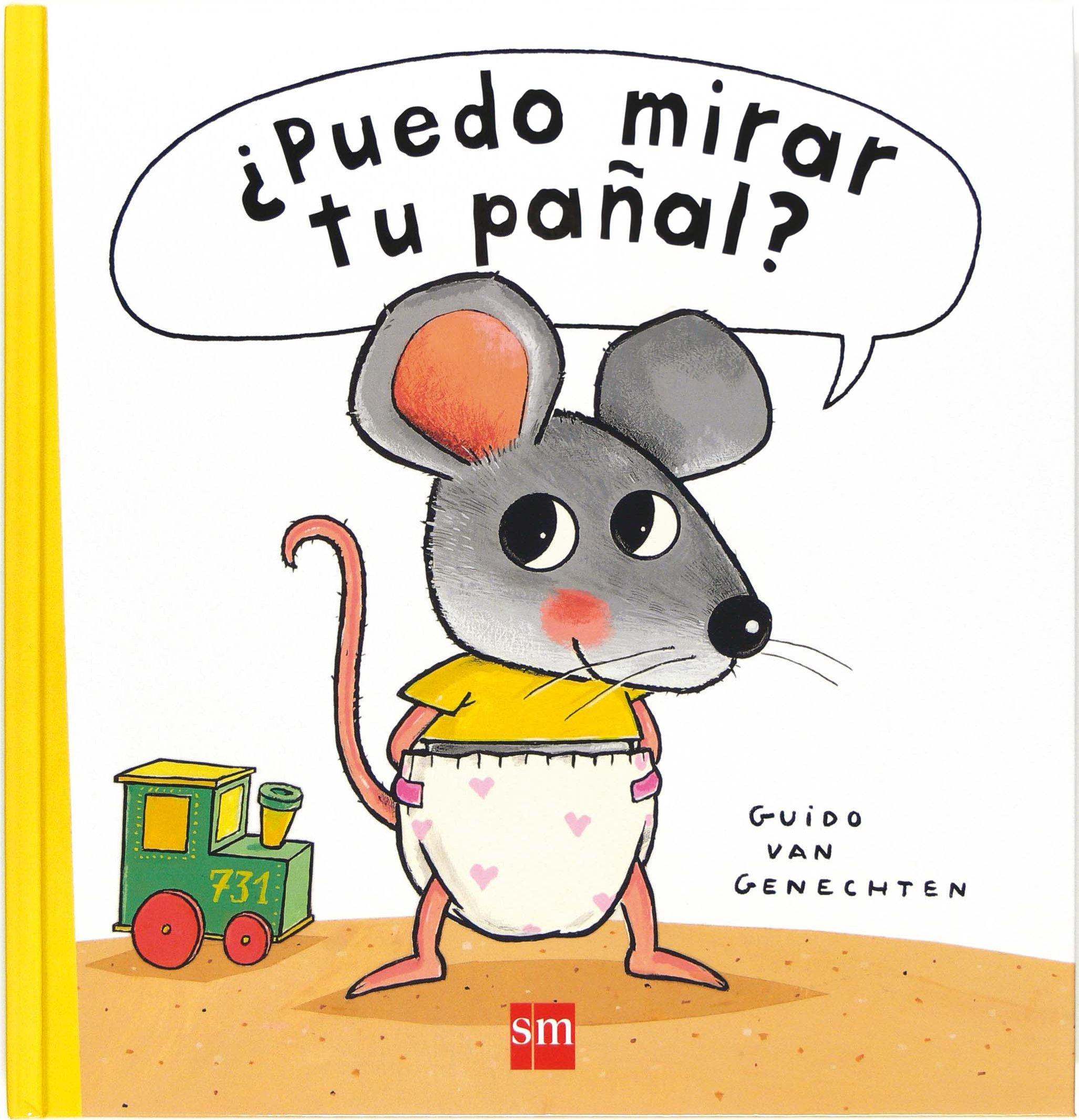 ¿Puedo mirar tu pañal? (Libros de cartón): Amazon.es: Guido van Genechten,  Teresa Tellechea: Libros