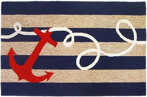 Liora Manne Frontporch Indoor Outdoor Rug, 5 x 7 6 , Anchor