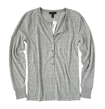 18ab58b1 J Crew Women's Slim Fit Long Sleeve Henley Tee at Amazon Women's Clothing  store: