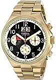 Fossil Herren-Armbanduhr Analog Quarz Edelstahl CH2911