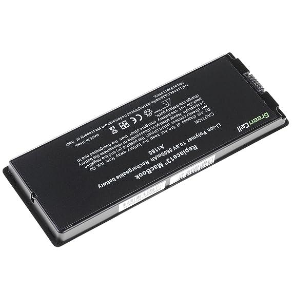 Green Cell® A1185 Batería para Apple MacBook 13 A1181 2006-2009 ...